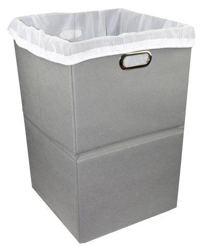 Freegrace Foldable Large Laundry Hamper with Laundry Bag