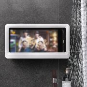 Phone Holder Waterproof Storage Case Box Wall Mounted