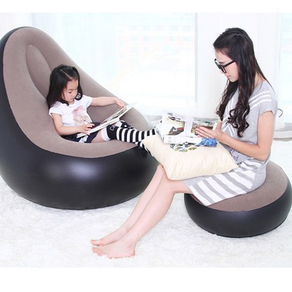 Marvelous Inflatable Chair Beanbag Sofa Cushion For Adults Seat Chair With Inflator Pump Gmtry Best Dining Table And Chair Ideas Images Gmtryco