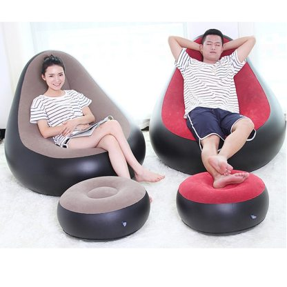 Prime Inflatable Chair Beanbag Sofa Cushion For Adults Seat Chair With Inflator Pump Gmtry Best Dining Table And Chair Ideas Images Gmtryco