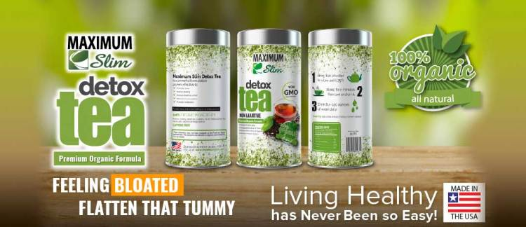 Maximum Slim ORGANIC DETOX Tea Reviews & Sale