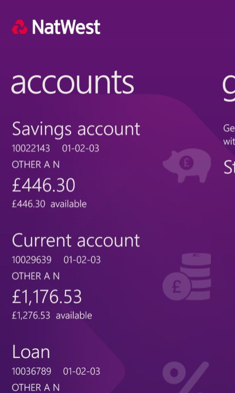 Natwest Personal Banking