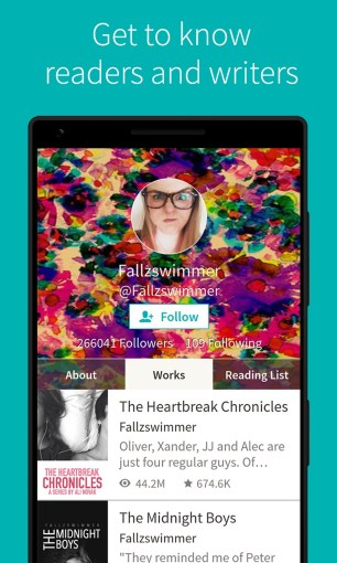 Get Wattpad  Free Books and Stories   Microsoft Store     Screenshot  Get to know readers and writers