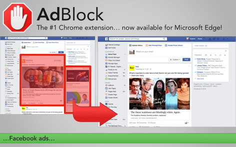 AdBlock And AdBlock Plus Now Available For Microsoft Edge