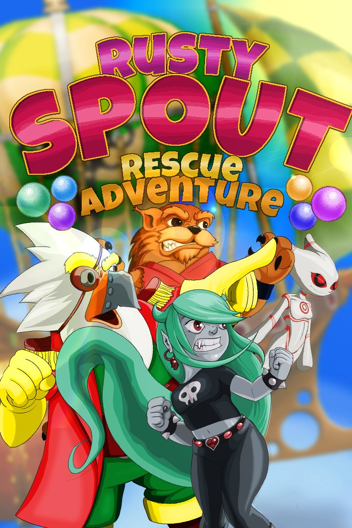 Rusty Spout Rescue Adventure Is Now Available For Digital Pre-order And Pre-download On Xbox One