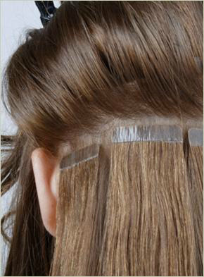 These Extensions Lay Very Flat Against The Clients Hair But Because Sections Are Quite Wide It Can Be Difficult To Wear Your In A High Ponytail