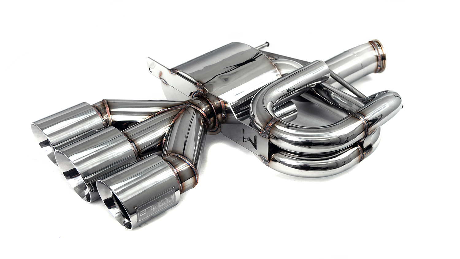 2017 civic type r cat back exhaust fk8