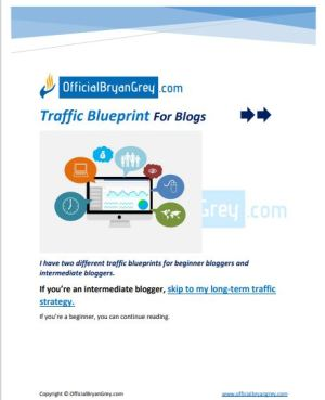 Traffic Blueprints For Blogs: How to get Social and Organic traffic as a beginner