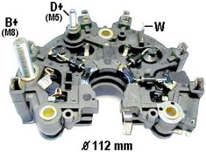 IBR844 (319124) Rectifier For Bosch 7090A Alternators