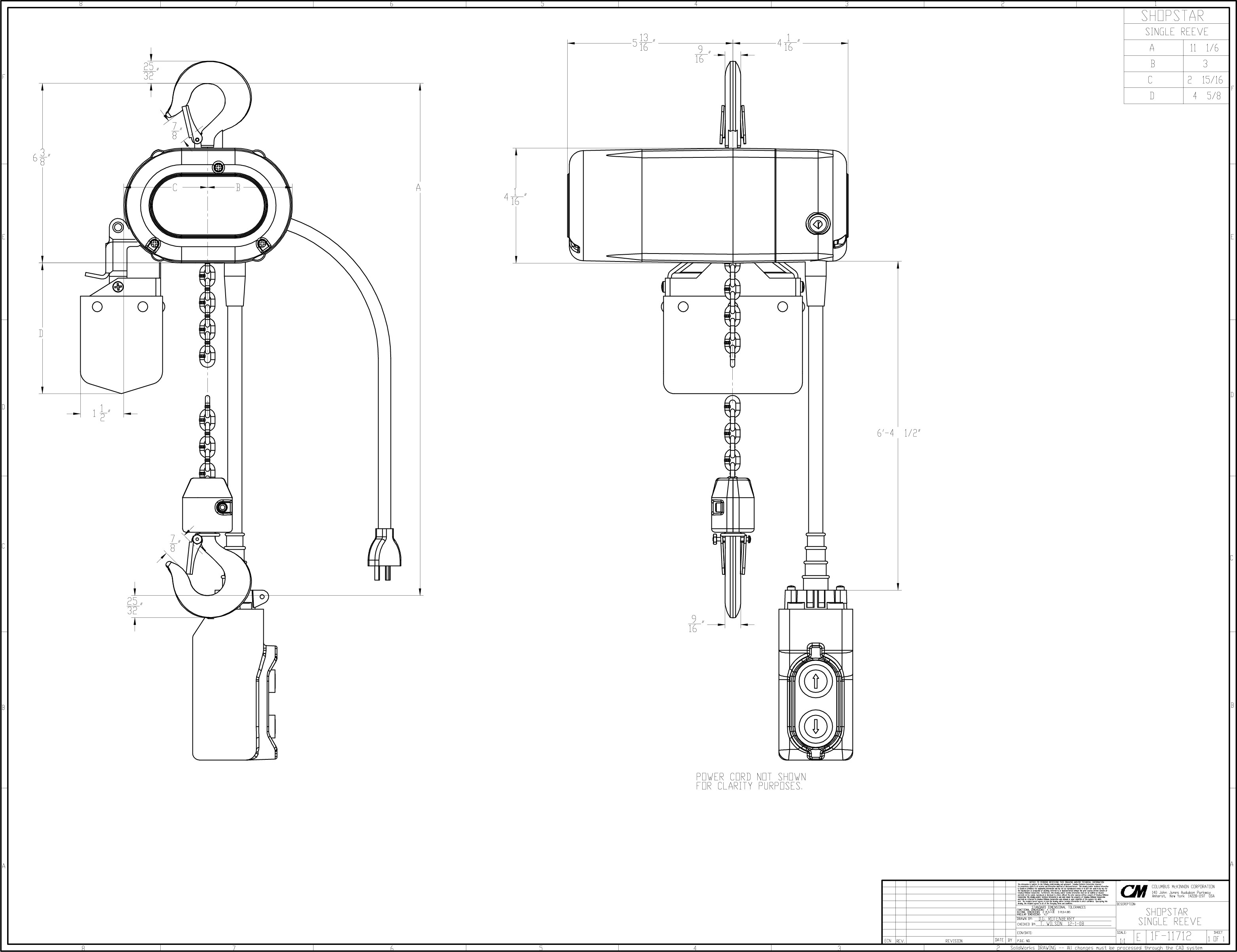 Cm Shopstar Hoist Wiring Diagram