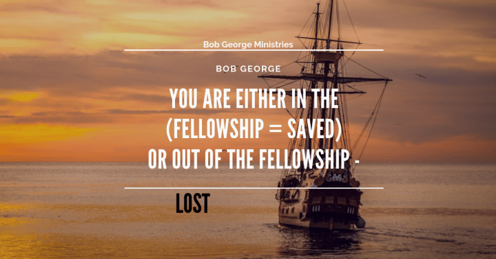 In The Fellowship Saved