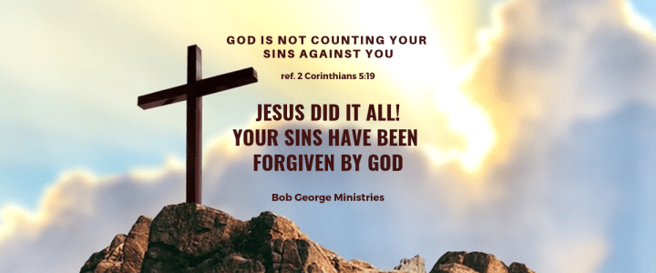 Your Sins Have Been Forgiven by God