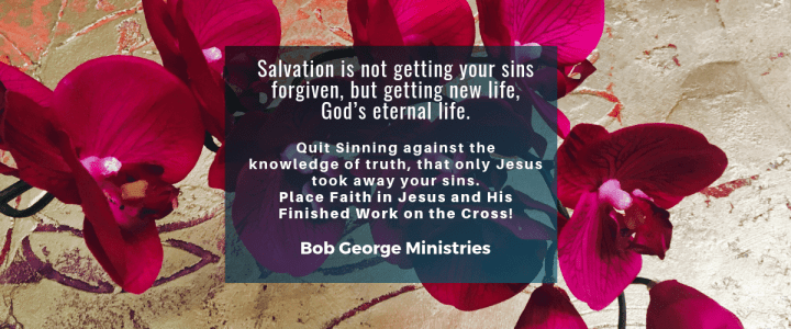 Salvation is Not Getting Sins Forgiven