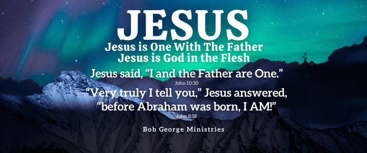 Jesus is One With The Father