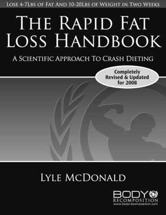 Rapid Fat Loss Handbook Cover