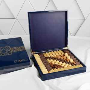 Royal Blue Chocolate Box