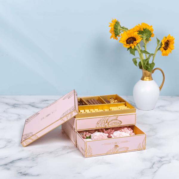 Charm pink Box