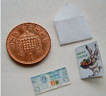 miniature Easter cards