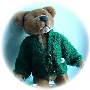 teddy cardigan
