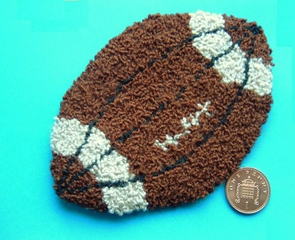 miniature rug kit from Buttercup Miniatures