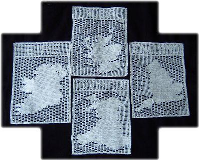 filet crochet maps