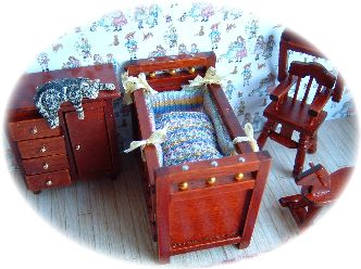dolls house bedding
