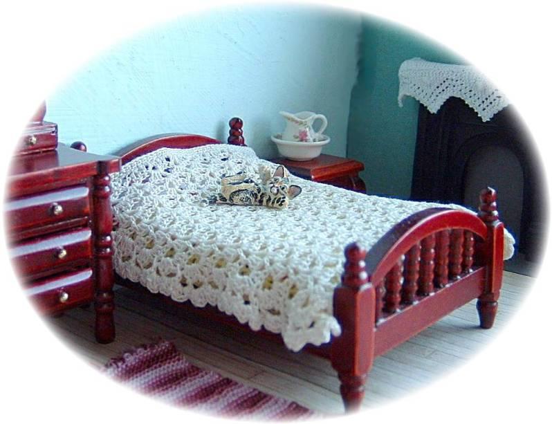 pattern for miniature bedspread