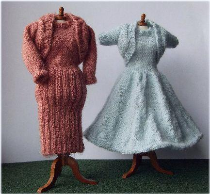 miniature dolls dresses