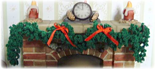 Miniature Christmas garland