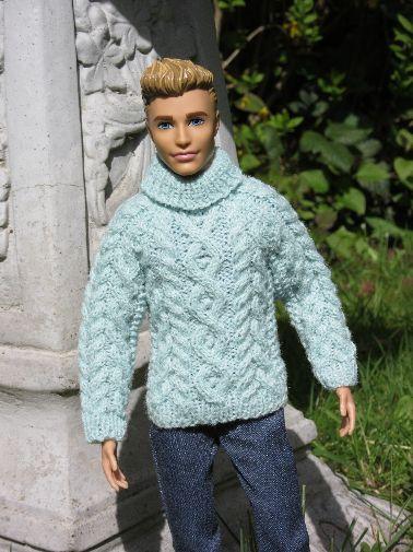 miniature Aran jumper