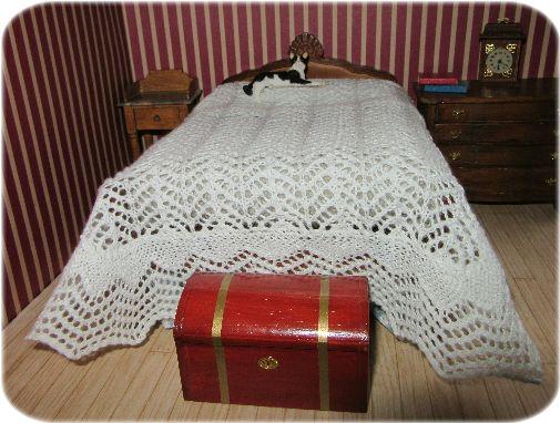 pattern for dolls bedspread