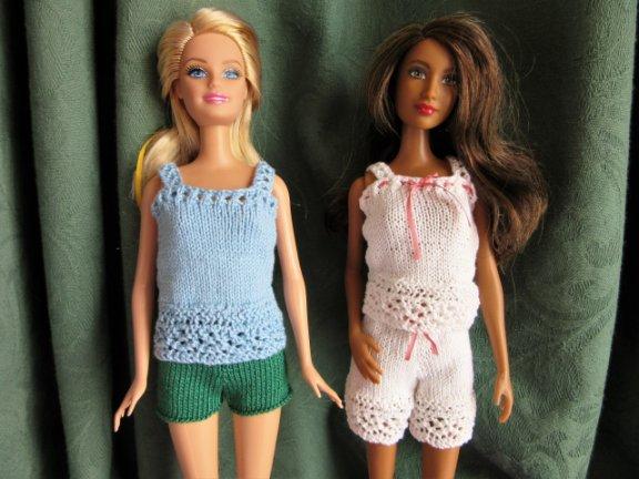 dolls knitted underwear