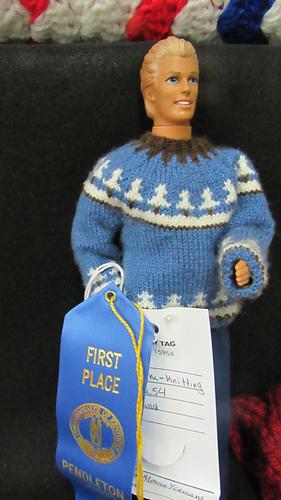 Monica's prizewinning jumper