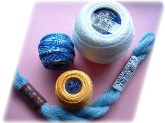 knitting and crochet yarns