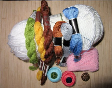 yarns and threads