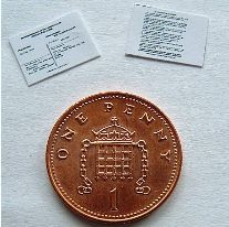 miniature polling cards