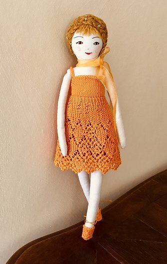 miniature dolls dress