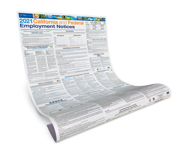 calchamber store product details california and federal labor law paper posters for remote employees
