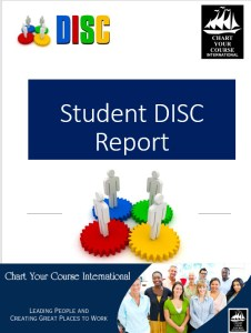Student DISC report
