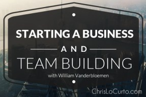 starting a business and team building