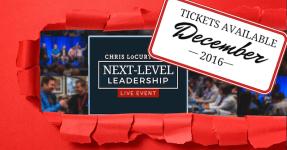 chris locurto, next-level leadership live event