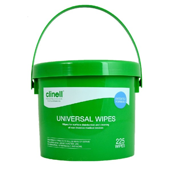 Clinell Universal Wipes (225)
