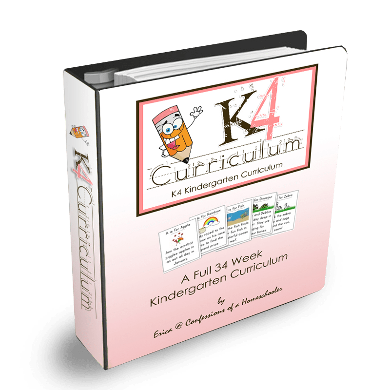 K4/K5 Kindergarten Curriculum - PDF - Click Image to Close