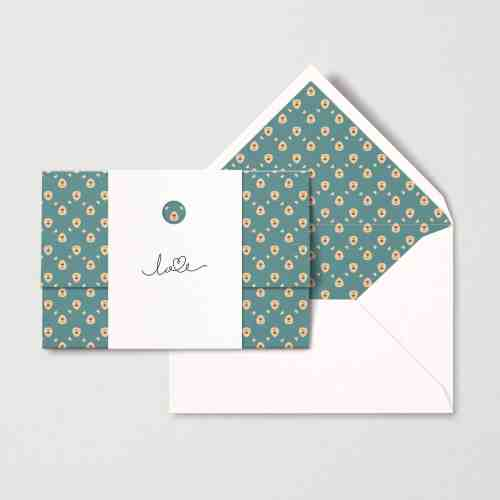 Papear stationary love valentine's day