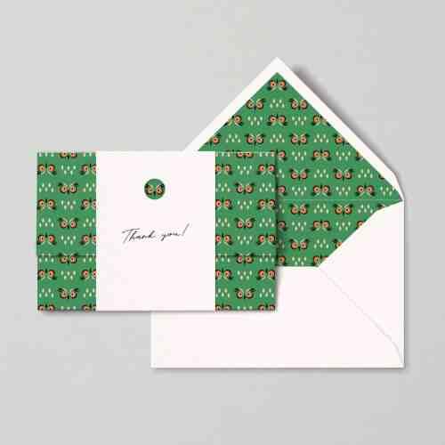 """Eagle owl"" card   Papear Stationary"