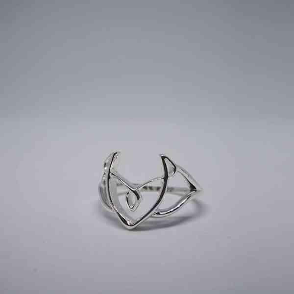 Desire Silver Ring