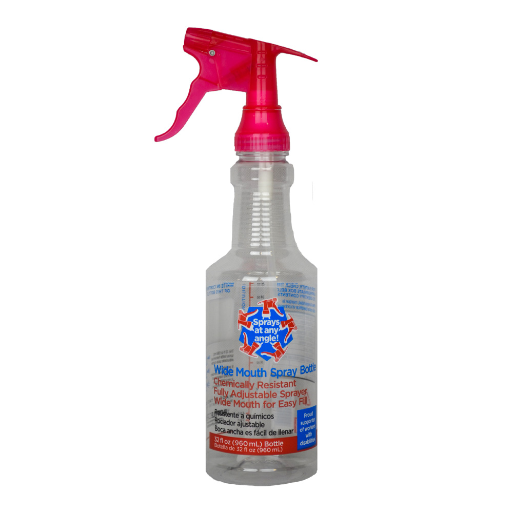 Wide Mouth Quart Spray Bottle