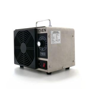 Générateur d'ozone DAC-10G, Désinfectant pour les petits environnements jusqu'à 200 m3/heure, Sortie d'ozone 10 G/heure, minuterie réglable jusqu'à 2 heures Certification CE, RoHS