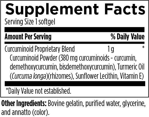 Curcum-Evail® Softgels*