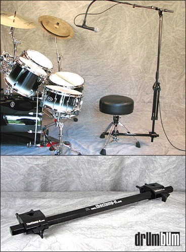 DRUM BUM  ACCESSORIES  DRUMSET PARTS  The Clamp It Mic Stand clamp it mic stand jpg